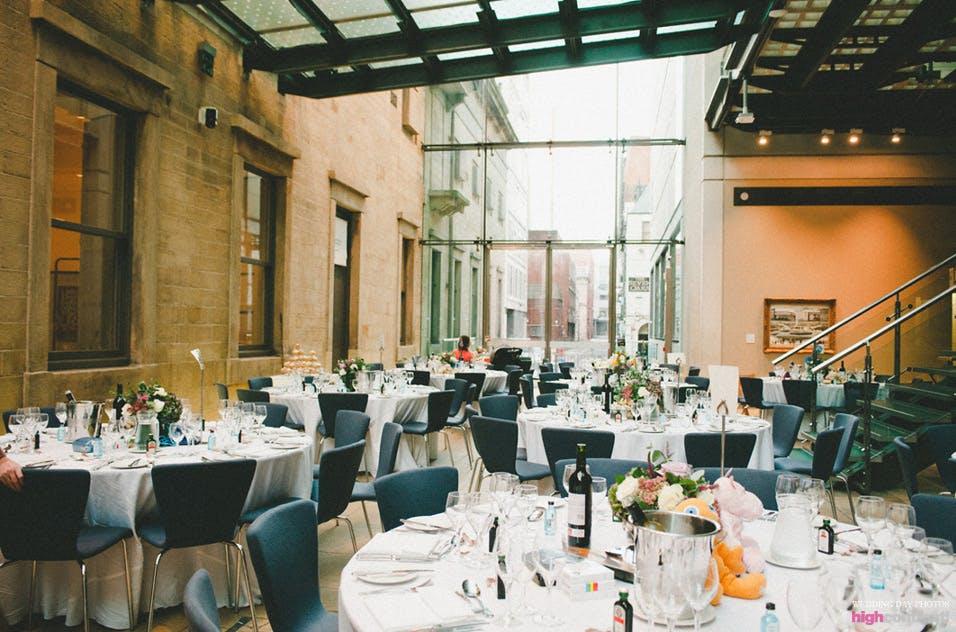 Atrium Weddings Hire Manchester Art