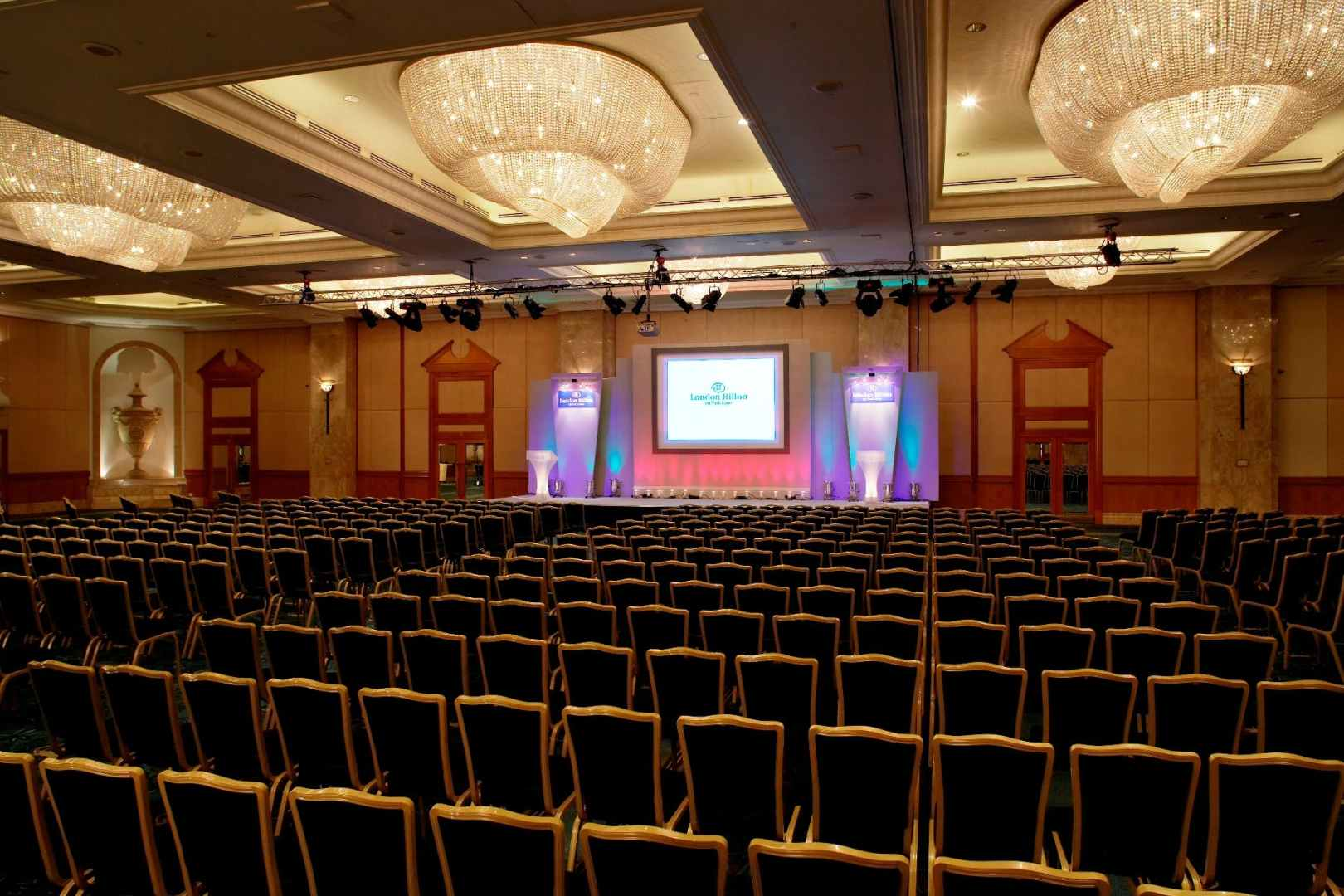 Grand Ballroom Business London Hilton Park Lane