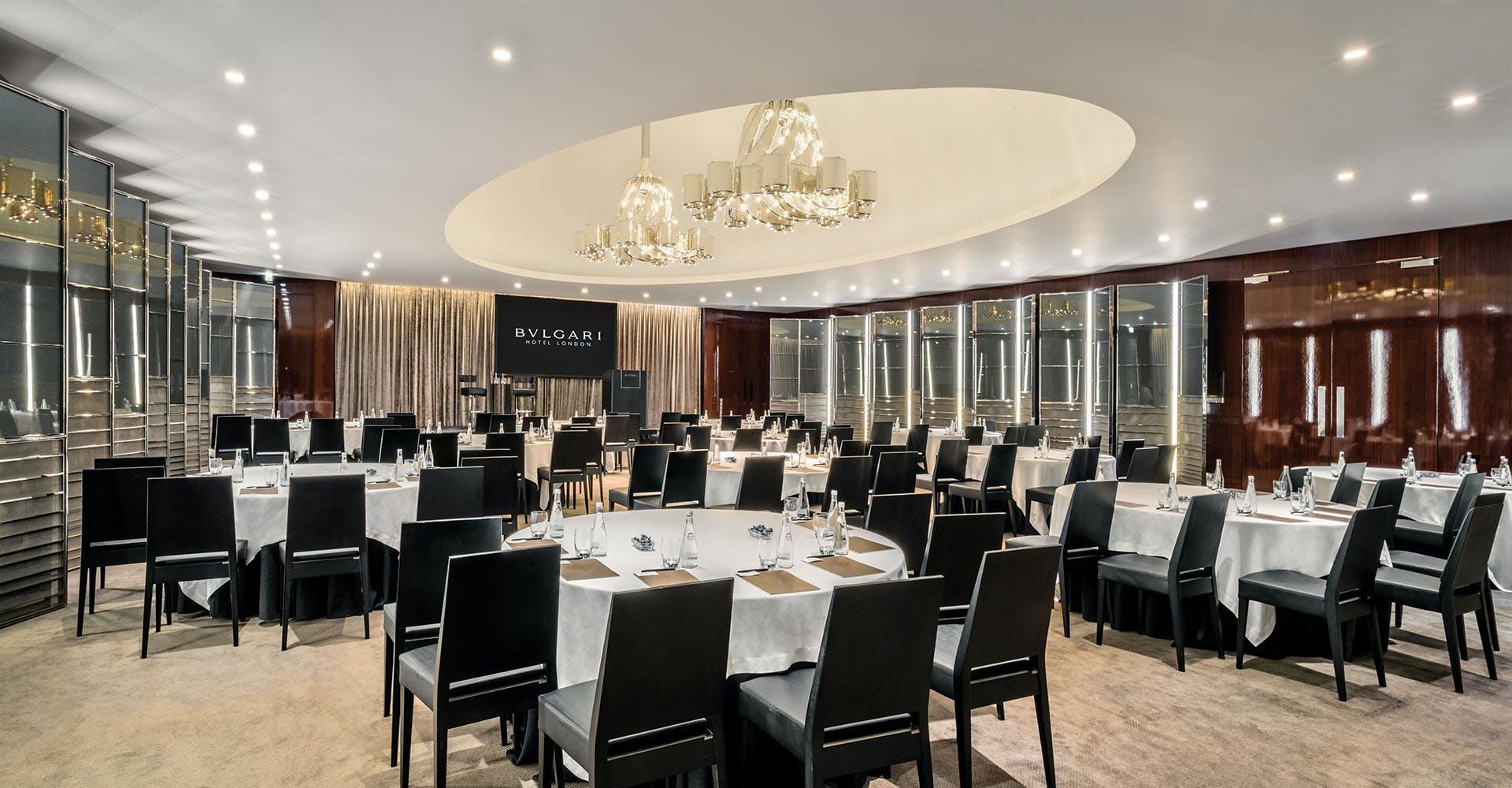 Ballroom Business Bulgari Hotel London