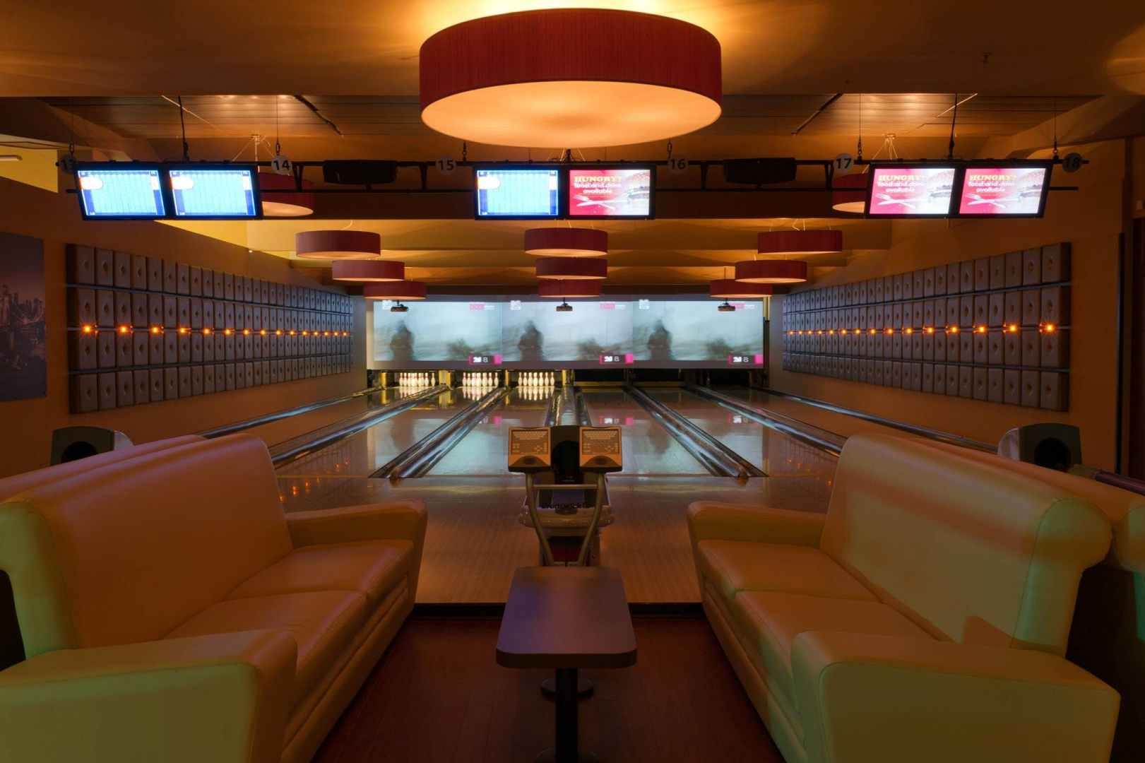 hire space venue hire vip bowling lanes at namco funscape  [ 1920 x 1080 Pixel ]