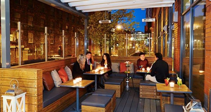 Shisha Lounge  Events Hire  Zouk Tea Bar  Grill