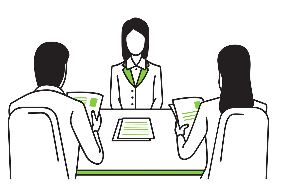 hight resolution of different types of job interviews