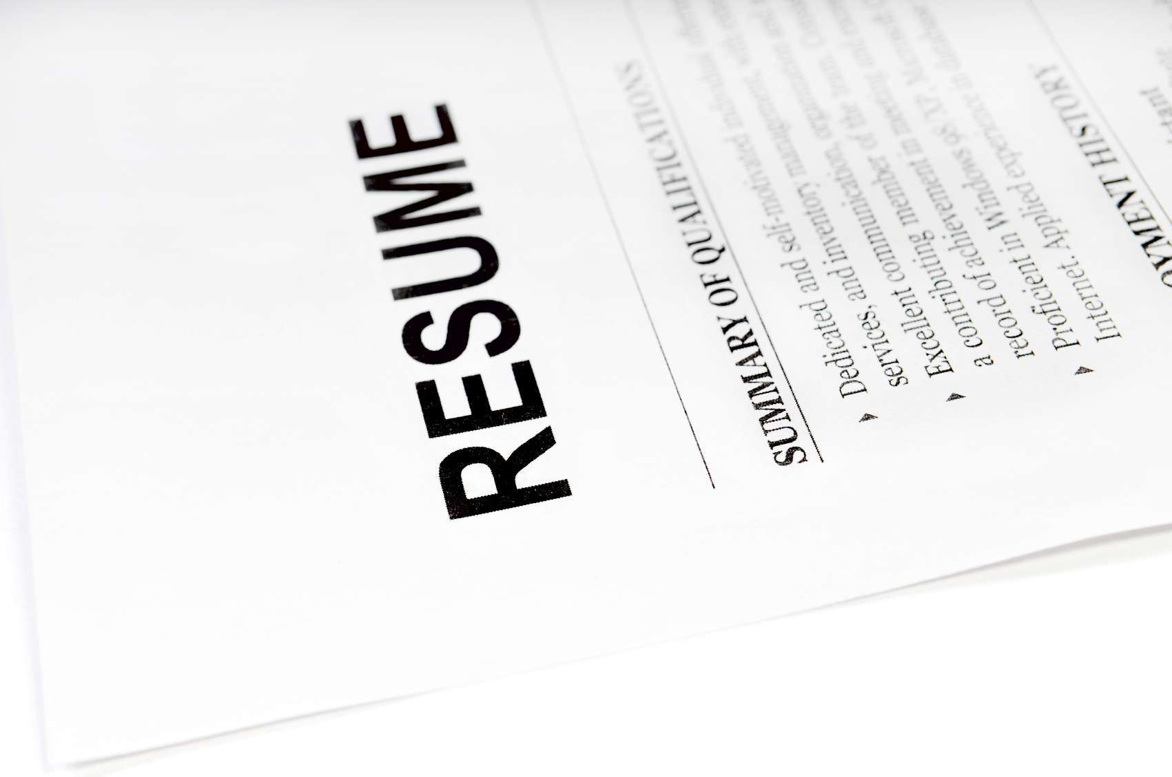 Things Not To Do On A Resume 10 Things Not To Include When Writing A Resume