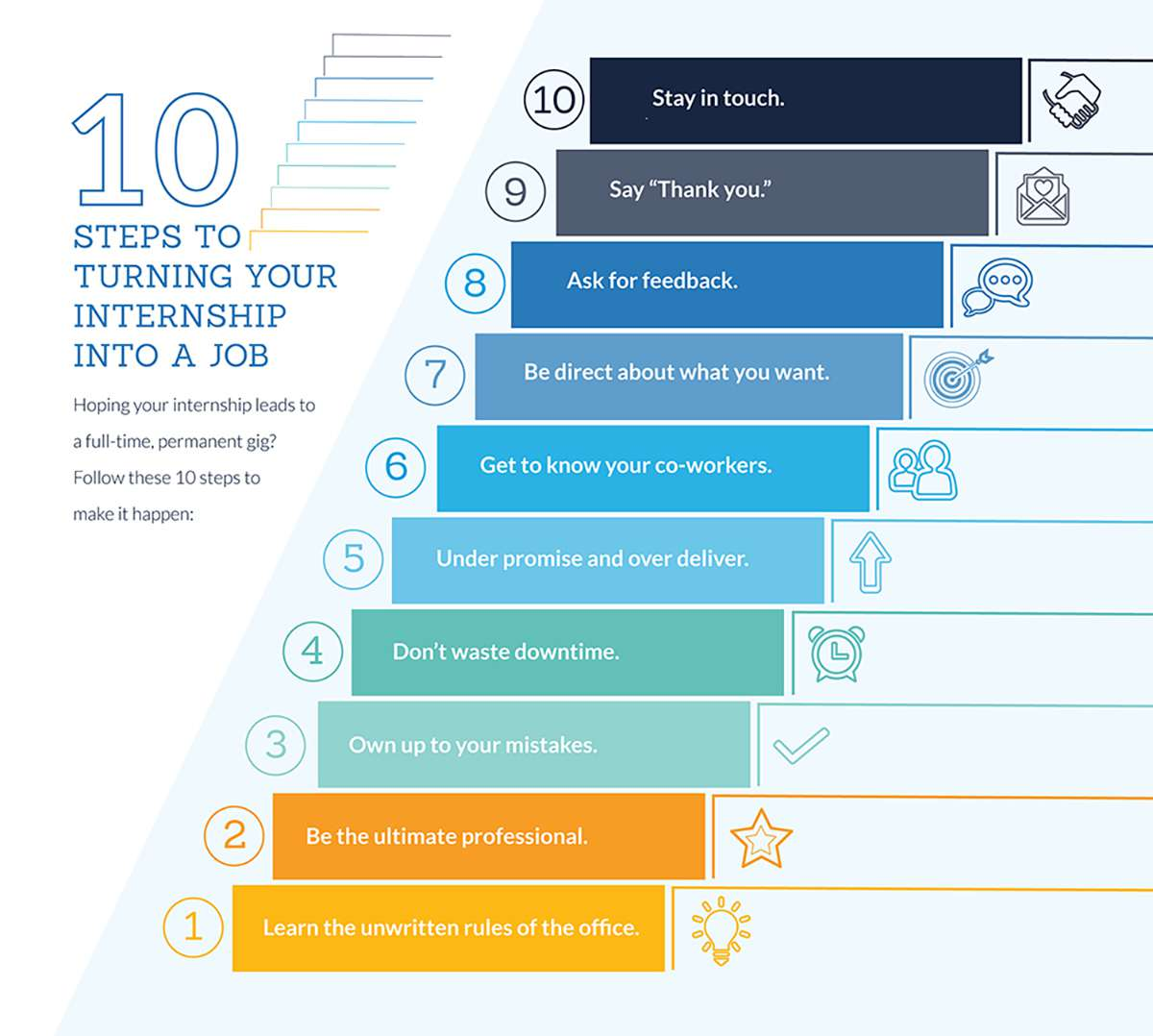 10 Steps To Turning Your Internship Into A Job  Careerbuilder
