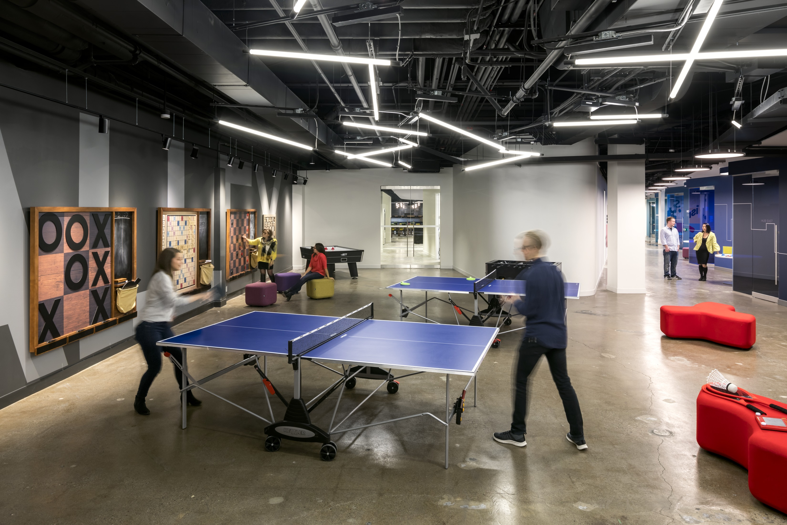 Some games are timeless for a reason. The case for (and against) the office games room ...