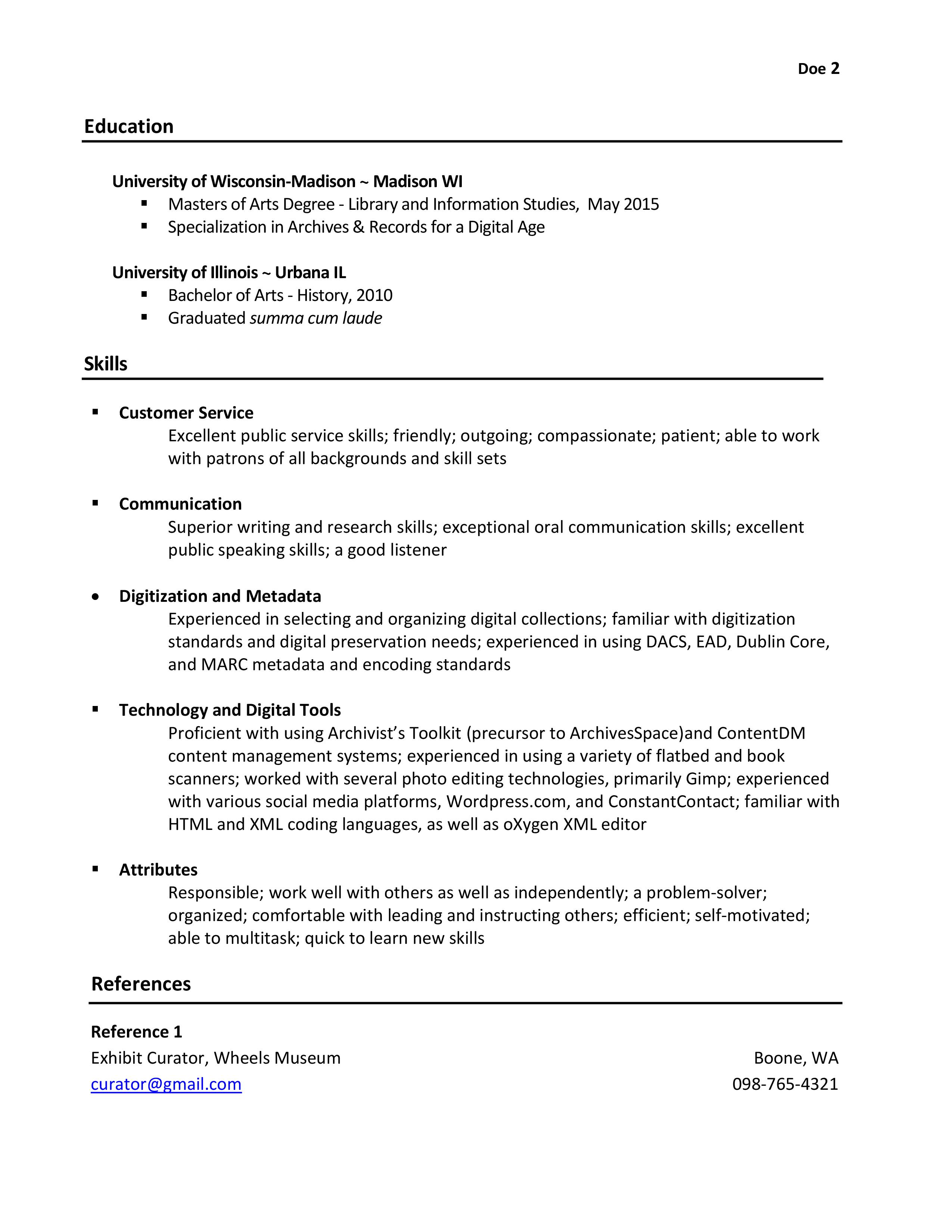 Librarian Resume Objective Library Resume Hiring Librarians