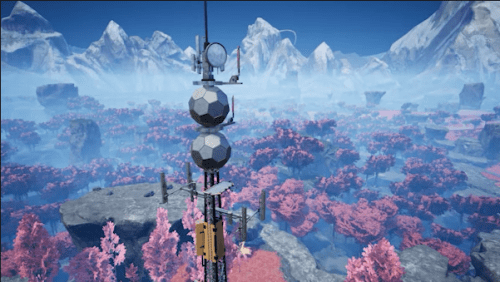 Satisfactoryレーダータワー