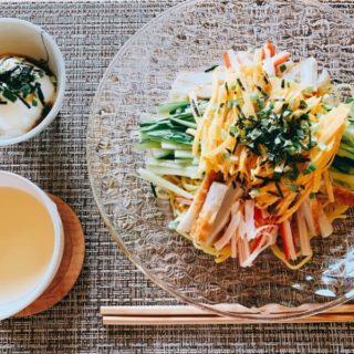 流水麺冷やし中華