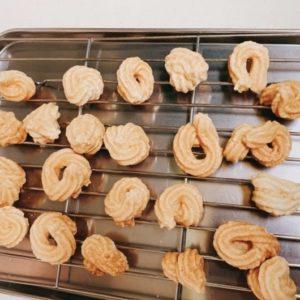 メレンゲクッキー失敗例②