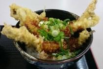 ジャンボ穴子天丼