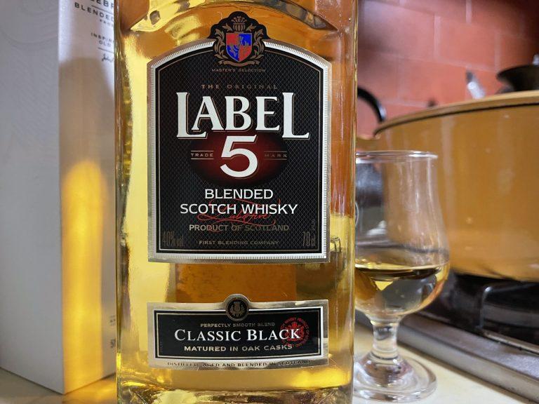ラベル5 クラシックブラック
