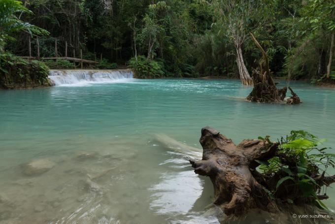 クアンシーの滝 ルアンパバーン