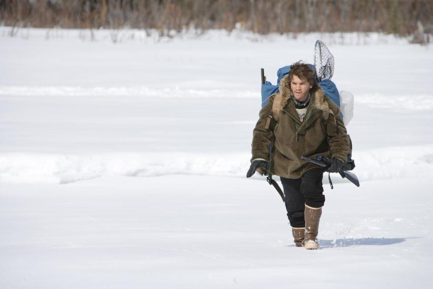 into the wild 雪の中