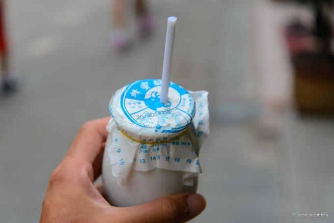 老北京酸奶 飲み方