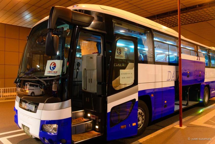 中国東方航空の臨時バス
