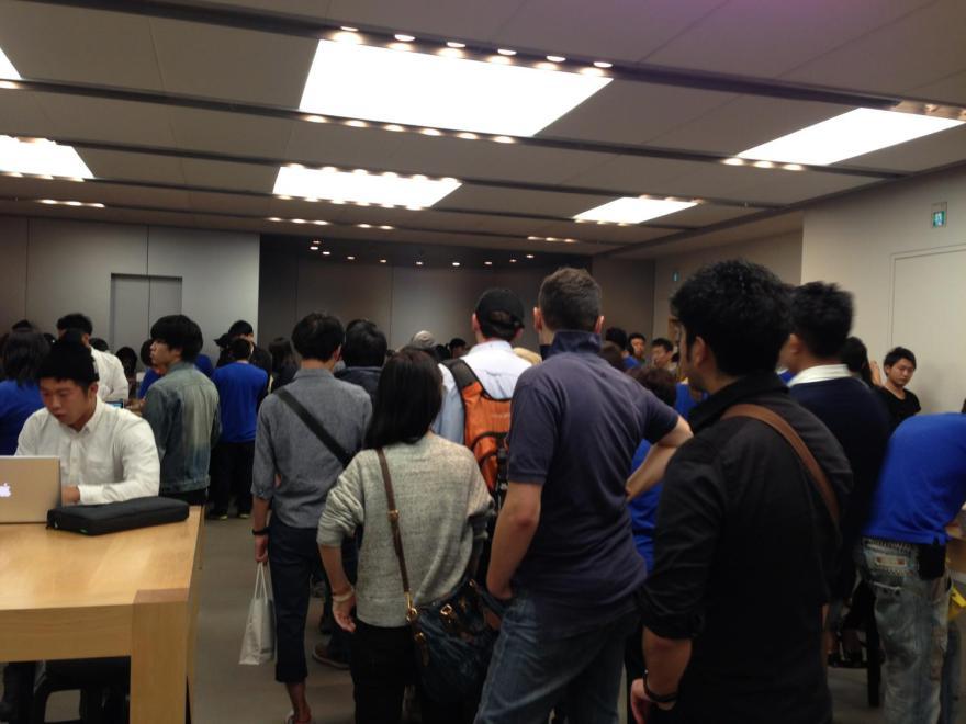 AppleStore渋谷の二階
