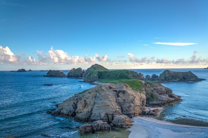 天城展望台からの小さな島
