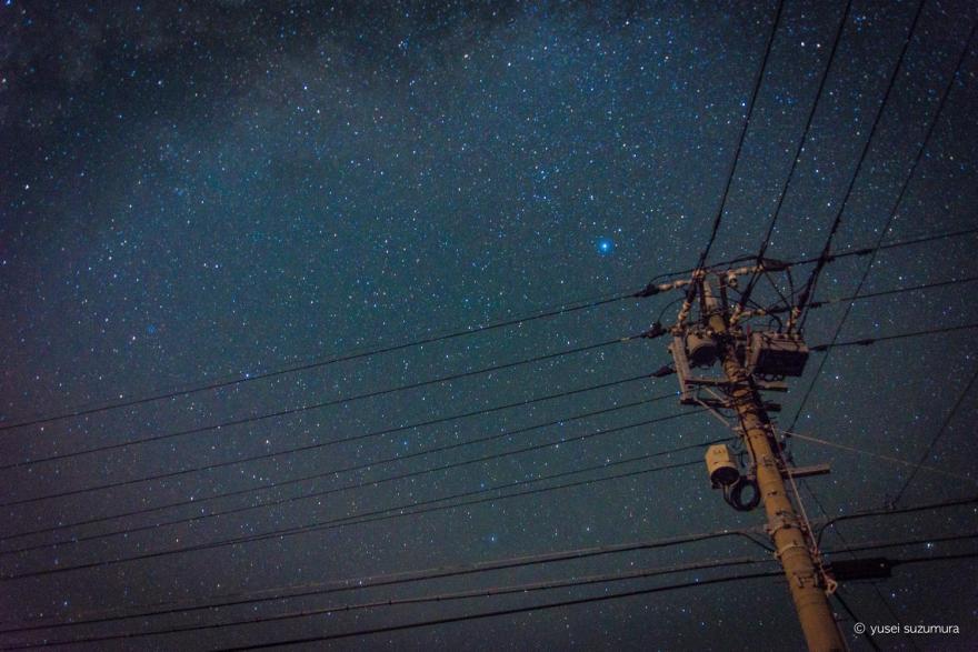 阿嘉島の星空
