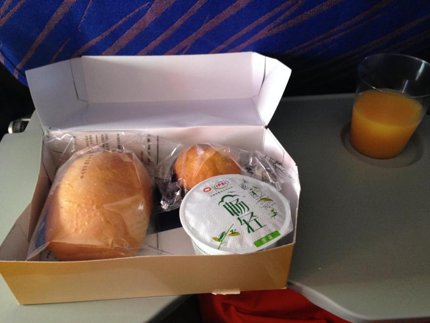 中国南方航空 国内線 機内食