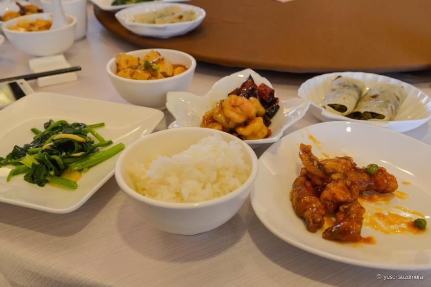 昼食 台北アンバサダーホテル
