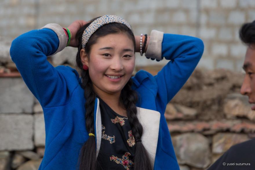 チベタンの女の子!
