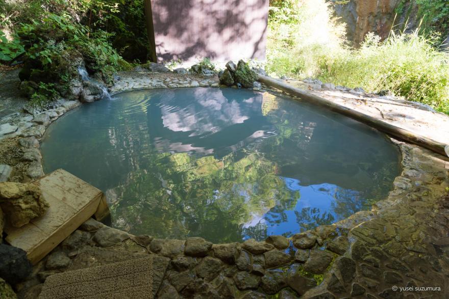白骨温泉公共野天風呂 風呂