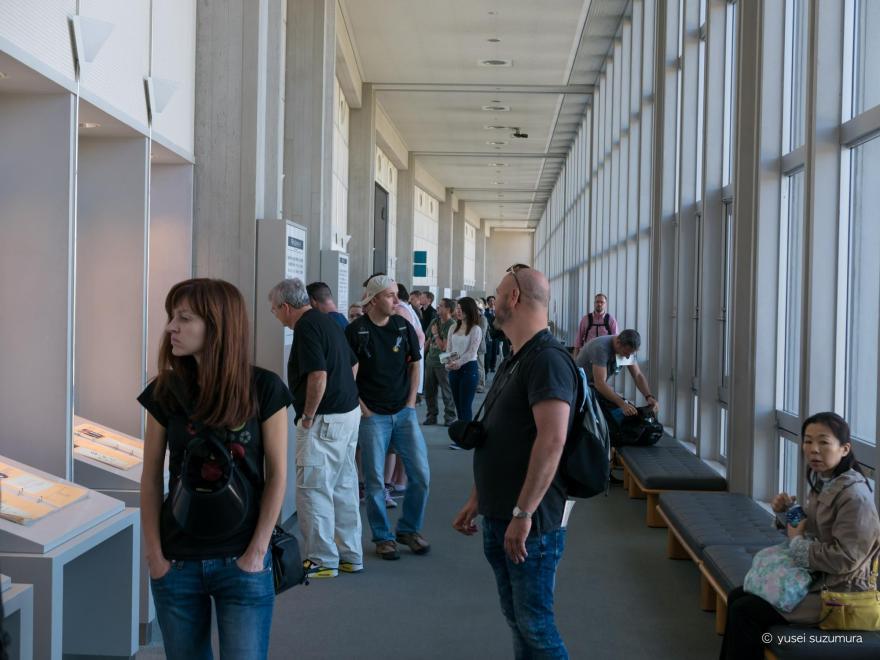 平和記念資料館 外国人観光客