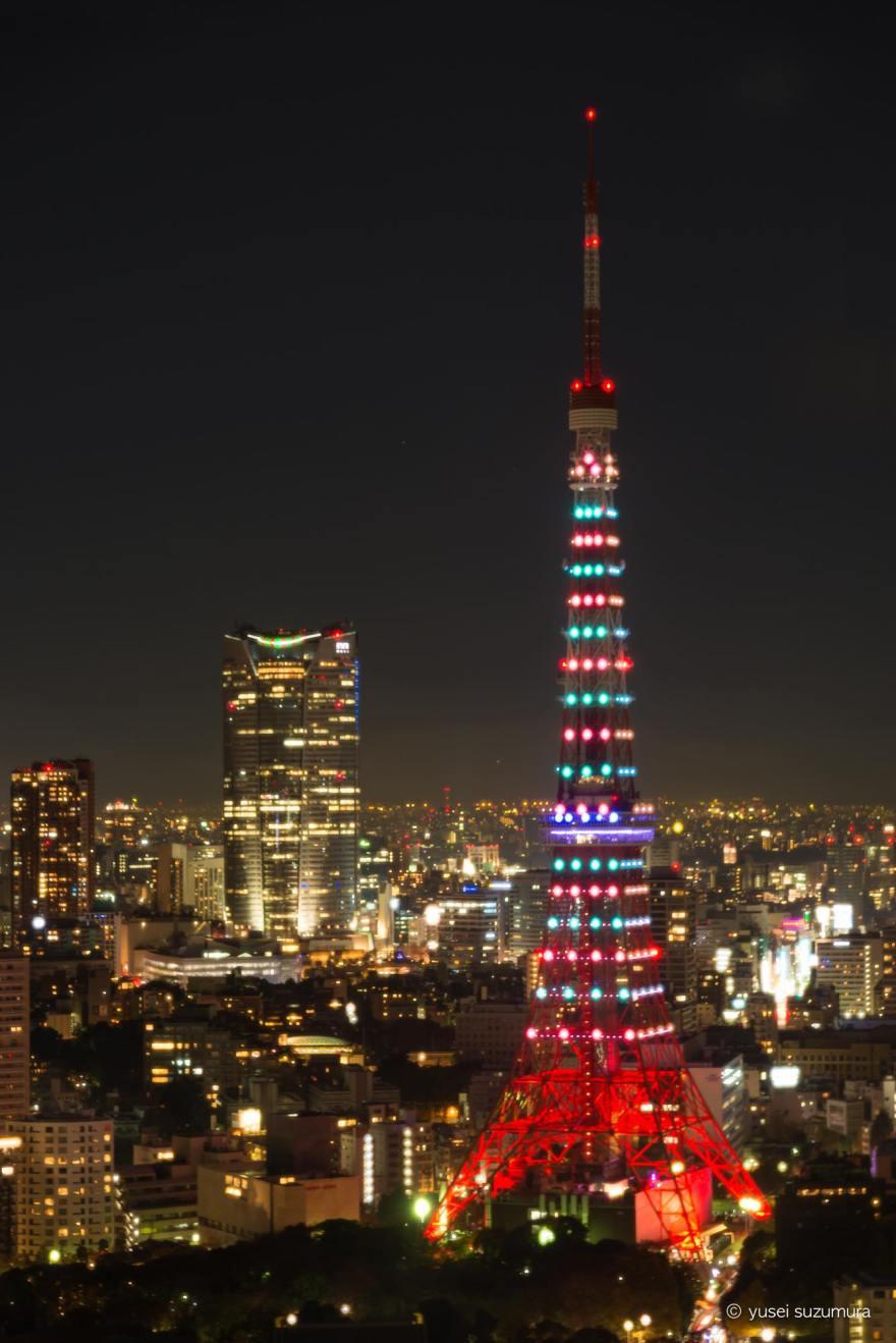 東京タワー ライトアップ 変化