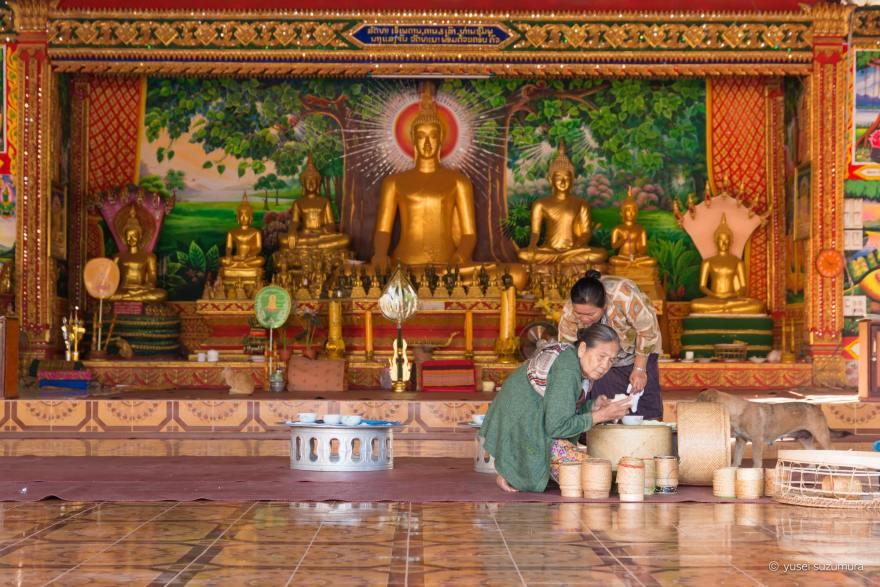ラオス 寺院