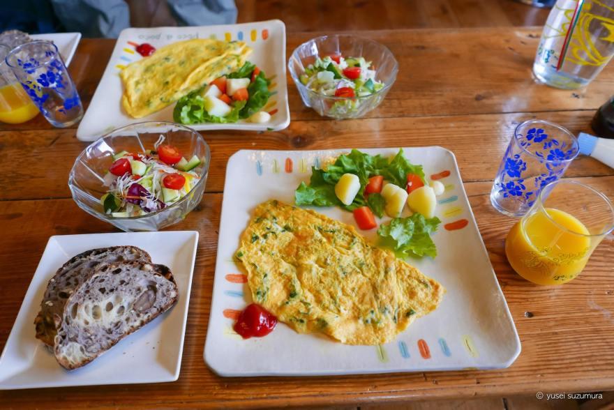 柿の家 朝食