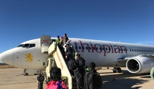 アフリカのベストエアライン!エチオピア航空の国際線と国内線に乗ってみた!
