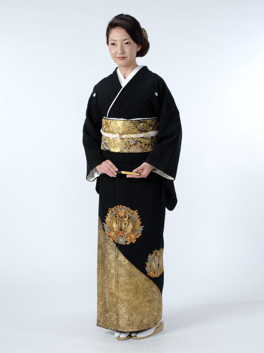 金彩・スワトウ留袖