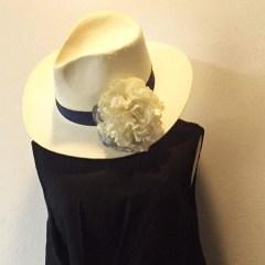 帽子のコサージュ_4
