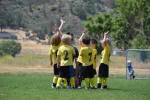 子供サッカー画像