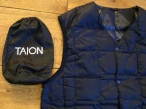 taion vest&pack close-up