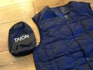 taion vest&pack light-up