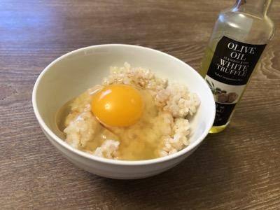 トリュフオイル卵かけご飯