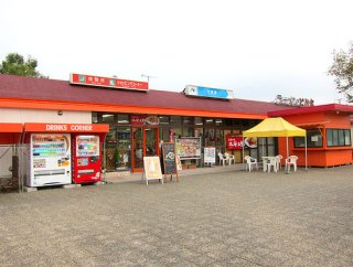 高速道路でワニを食べませんか?中国自動車道「七塚原サービスエリア」