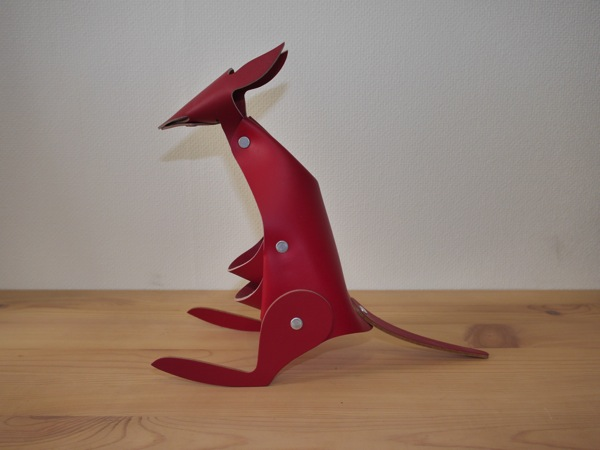 Hiroyaki leather penstand animal002