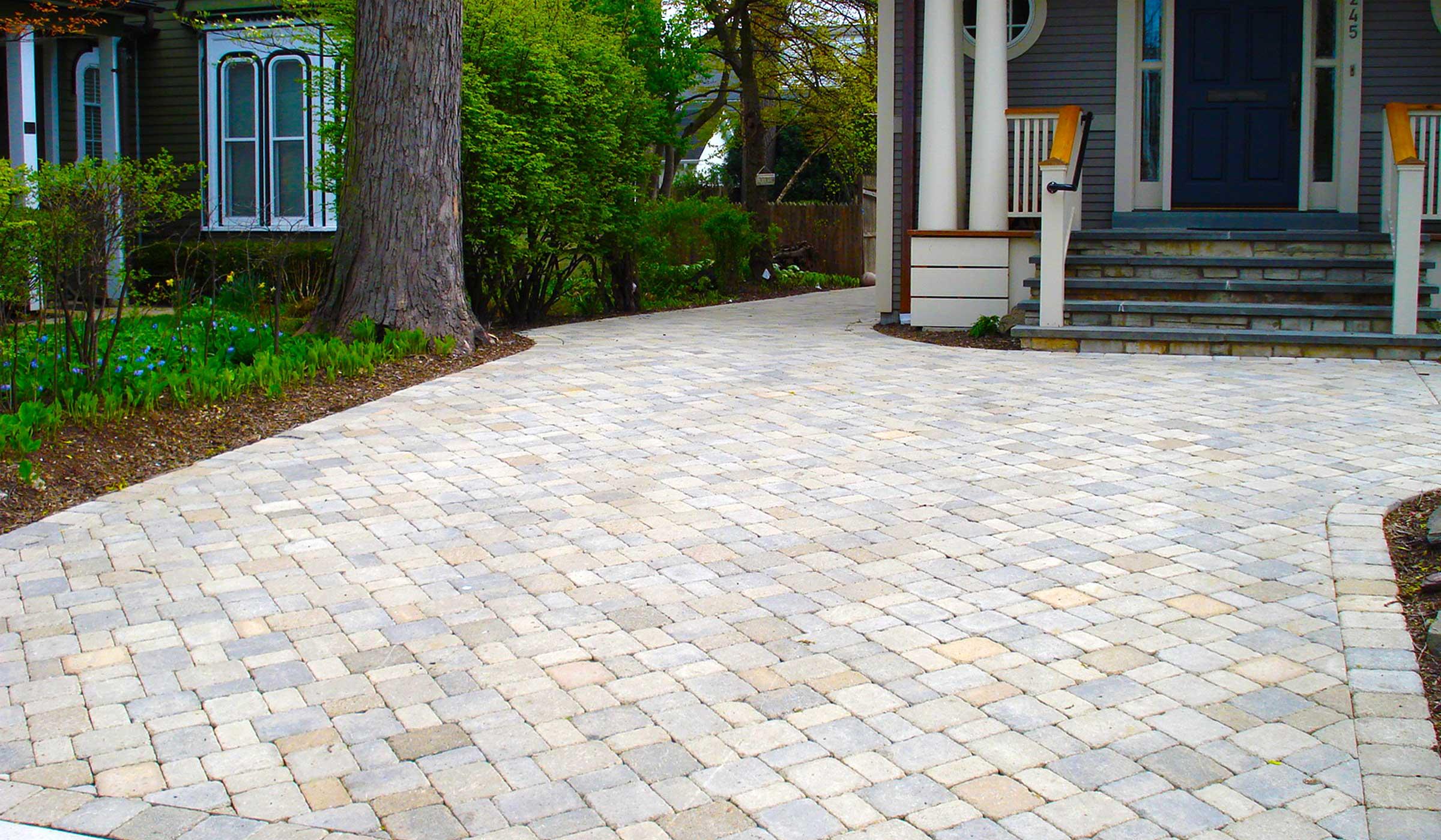 Driveways  Hirsch Brick and Stone