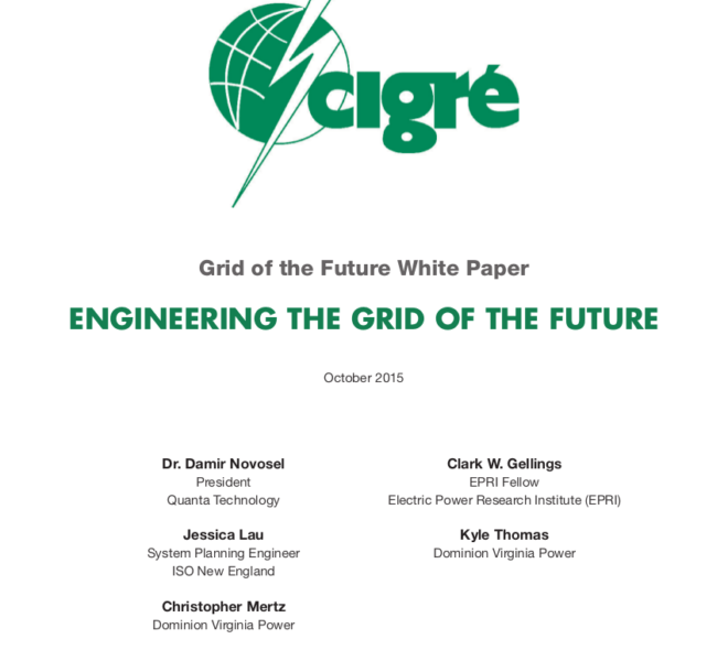 Engineering the Grid of the Future