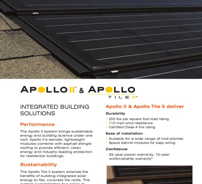 Solar Roof Brochure