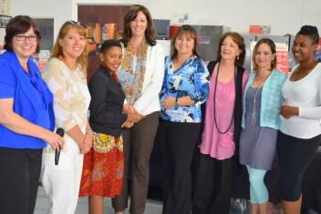 Joanne Brunette, Sharon Piel, Lulu Isa, Adele du Rand, Nicky Blignaut, Dorothy Wye, Maryke Roets and Sammy Nxumalo (Medium)