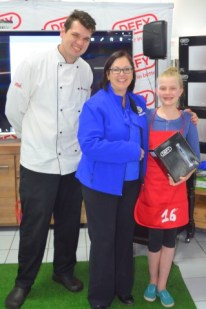 Chef Wesley Cameron, Joanne Brunette and Michelle Jones (Small)