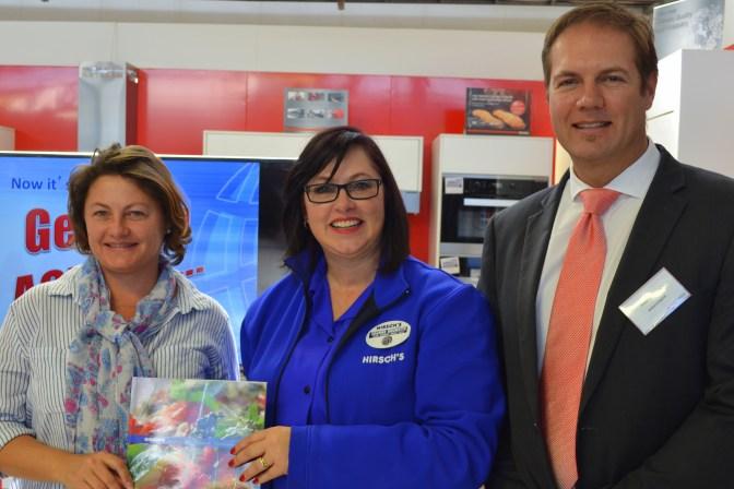 Ronel Harrison, Joanne Brunette and Pieter du Plessis