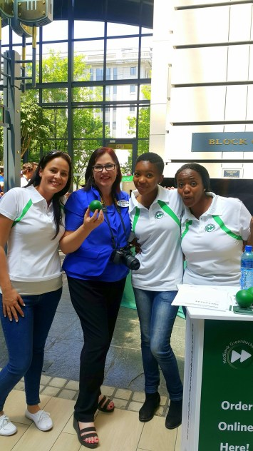 joanne-brunette-with-the-nedbank-greenbacks-team