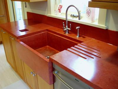 red kitchen cabinets best floors for kitchens countertops | hirshfield's color club