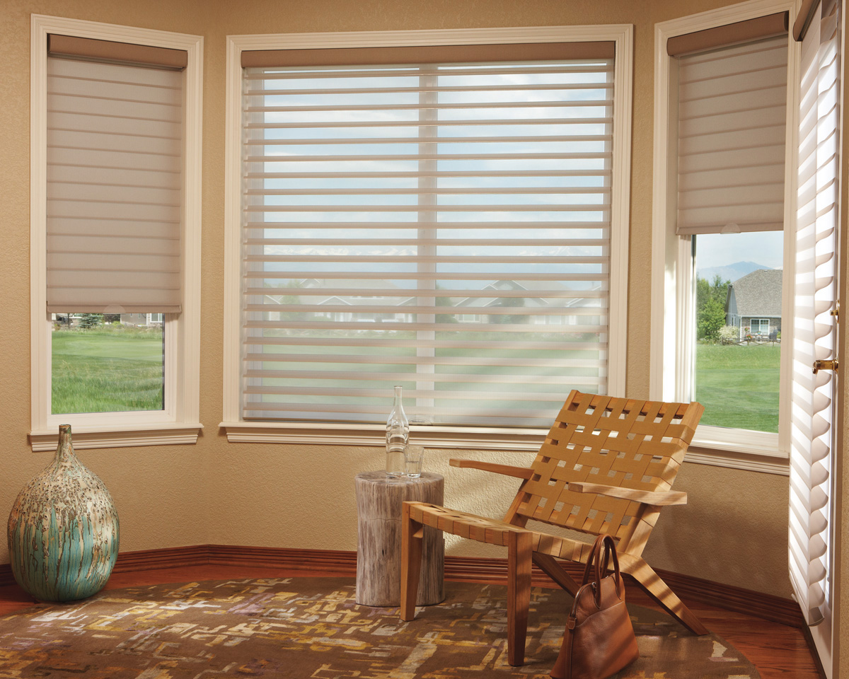 window treatment wednesday best choices for bay and bow windows  Hirshfields Color Club