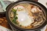 青森県青森市・初詣で冷えた身体を温める「千成」の鍋焼きうどんは、青森の行事食です!
