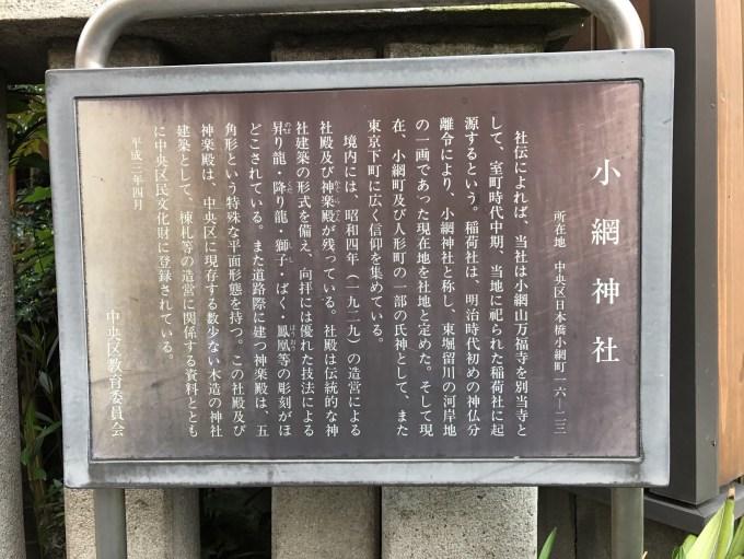 小網神社由緒